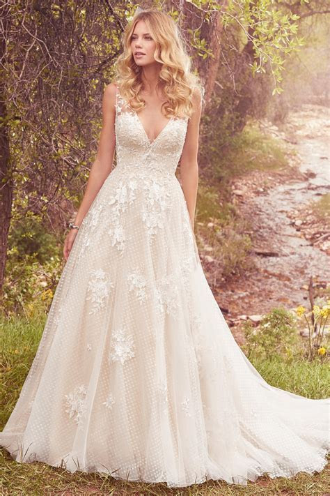 Meryl Wedding Dress from Maggie Sottero   hitched.co.uk