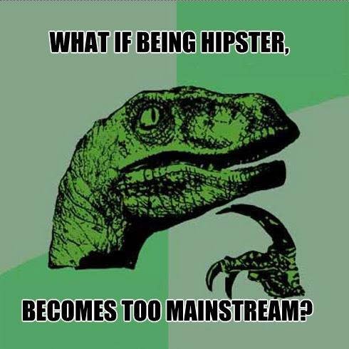 Hipster Dino meme