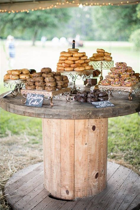 Trending 20 Perfect Wedding Donuts Display Ideas   Page 2