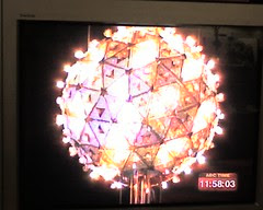 Flickr Photo: Times Square Ball as seen via television.