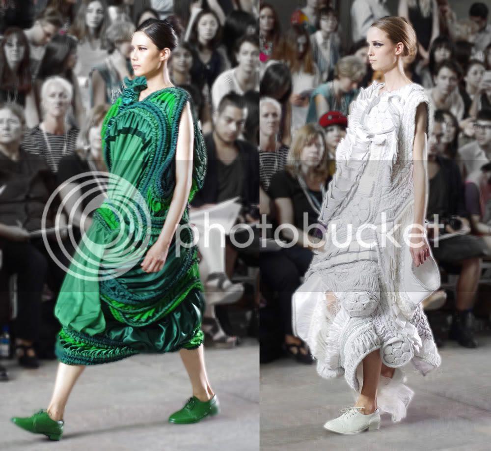 Teruhiro Hasegawa (Fashion Womenswear) CSM BA Press Show