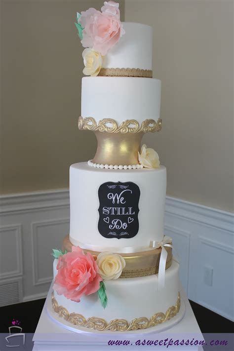 Vow Renewal Cake ? Sweet Passion Cakery