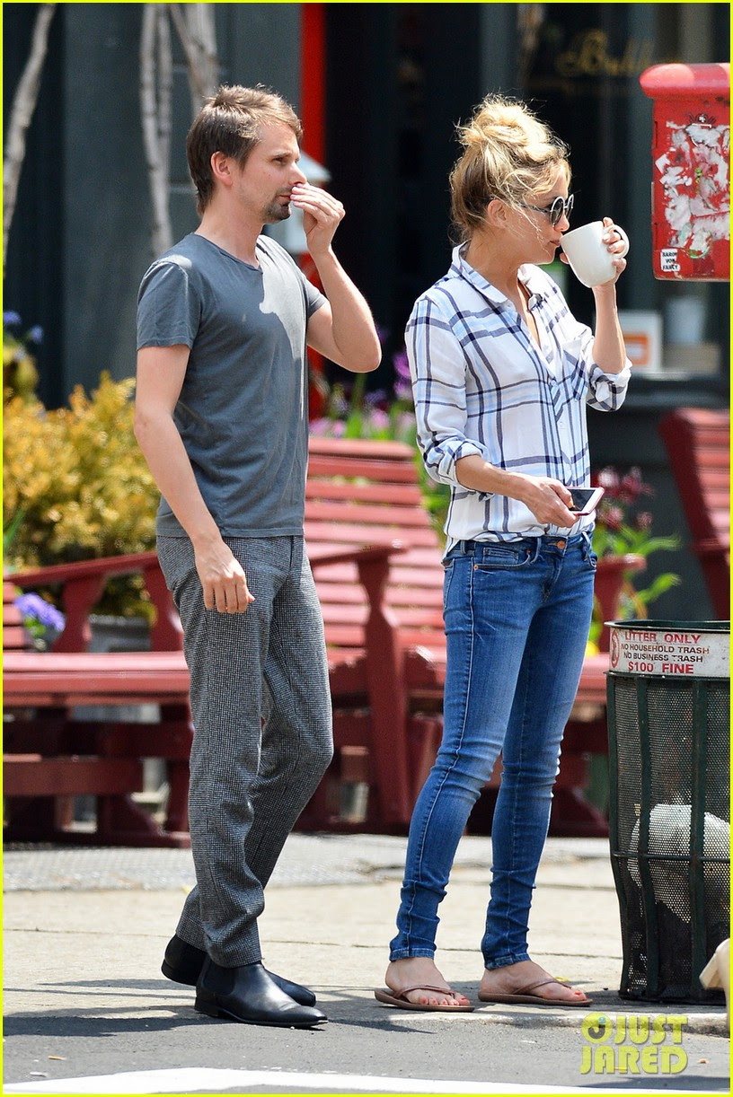 kate hudson matthew bellamy friendly exes in new york city 03