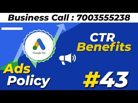 Google Ads CTR Benefits And Page Rank Tips