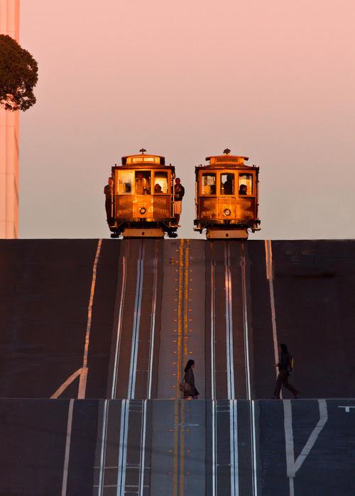 Street Symmetry, San Francisco, California