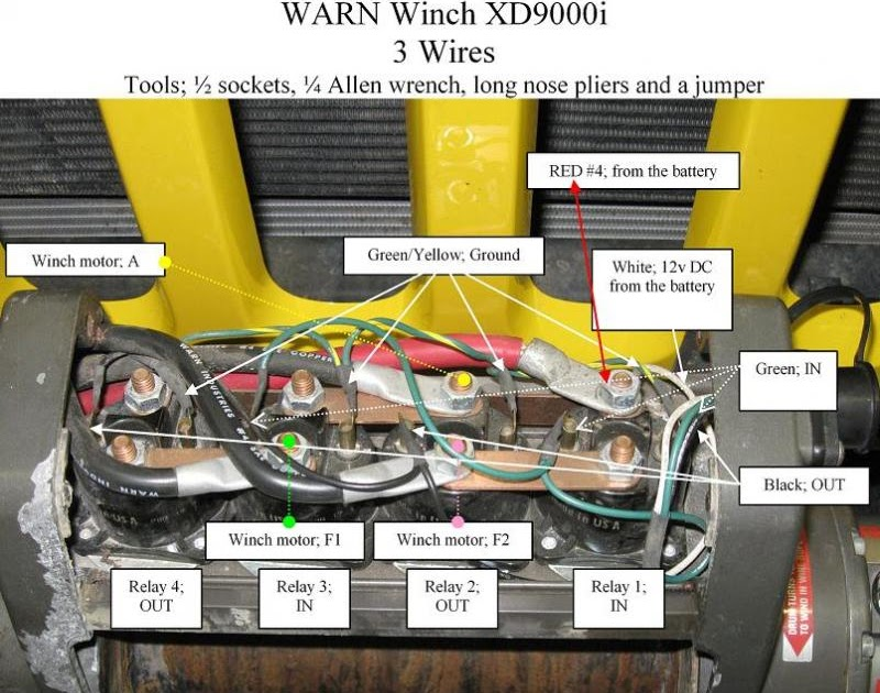 30 Warn Winch Xd9000i Wiring Diagram