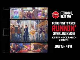 Runnin' by Keiko Necesario x BGYO [Official Music Video]