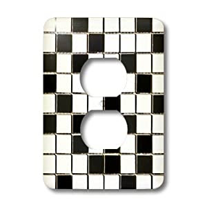 lsp_32451_6 Lee Hiller Designs Mosaic Tiles - Black and White ...