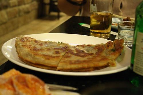 Scallion Pancake at Feng Mao
