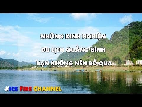 Những kinh nghiệm du lịch Quảng Bình bạn không nên bỏ qua