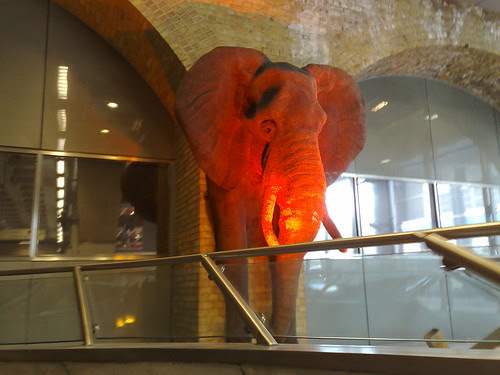 Waterloo Elephant by Mark Hillary