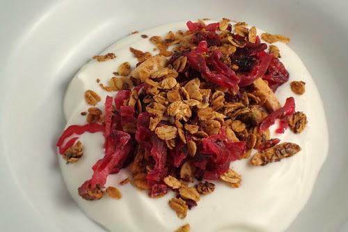 Cranberry and Hibiscus Granola