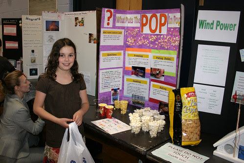 science fair: what puts the 'pop' in popcorn