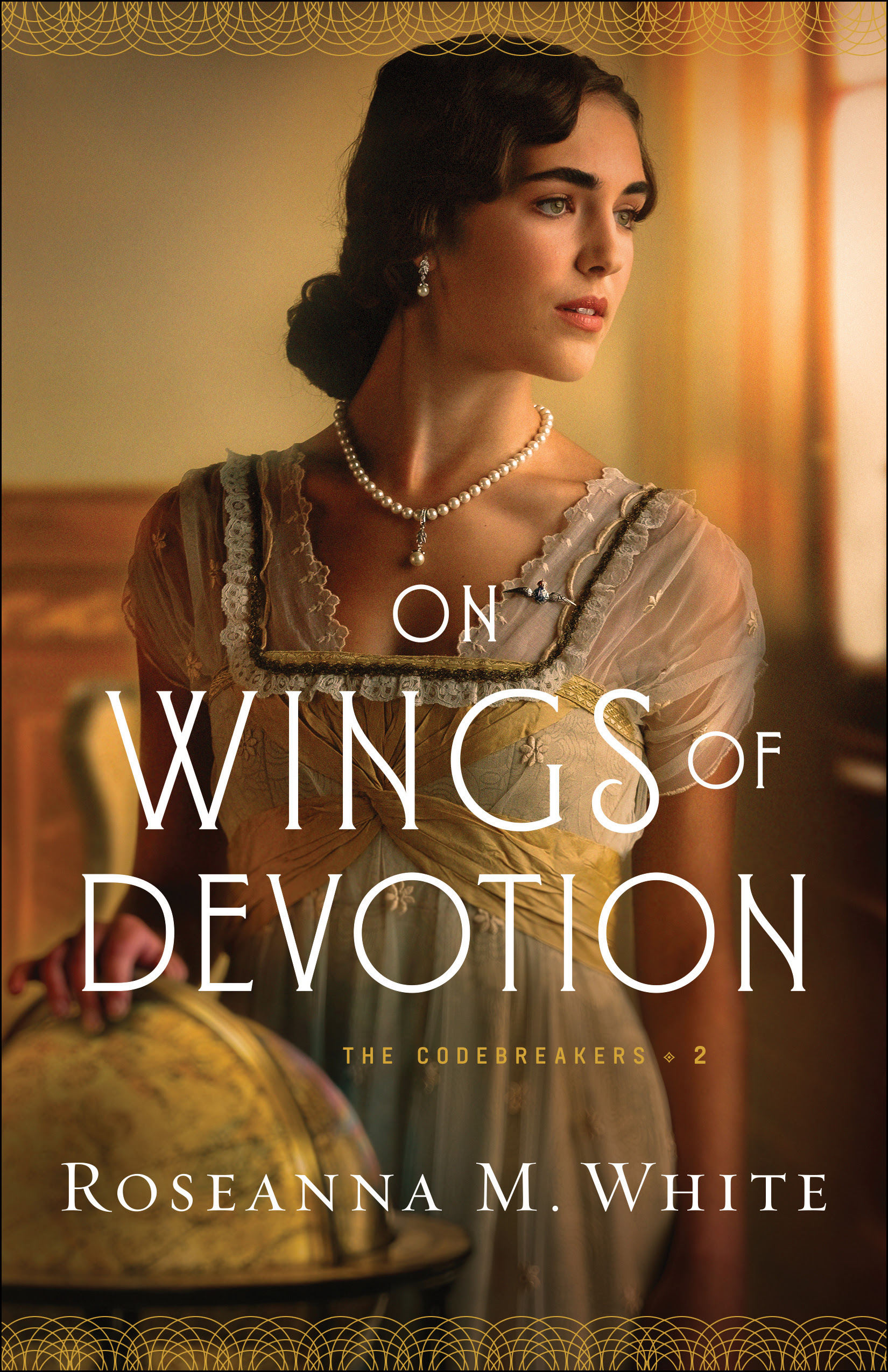 Book review of On Wings of Devotion by Roseanna M White (Bethany House) by papertapepins