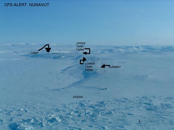 Vista geral de Alert Nunavut