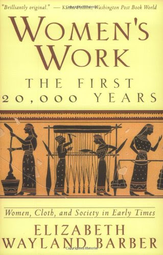 Book Cover Image: Women's Work by E. W. Barber.