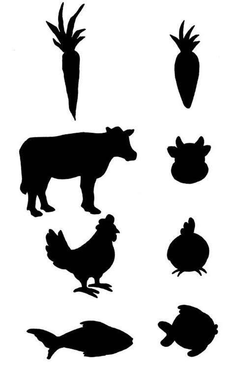 Where to find the chicken, beef and pork icons?