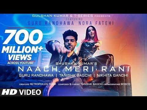 NAACH MERI RANI LYRICS – GURU RANDHAWA- Hindi lyrics of song