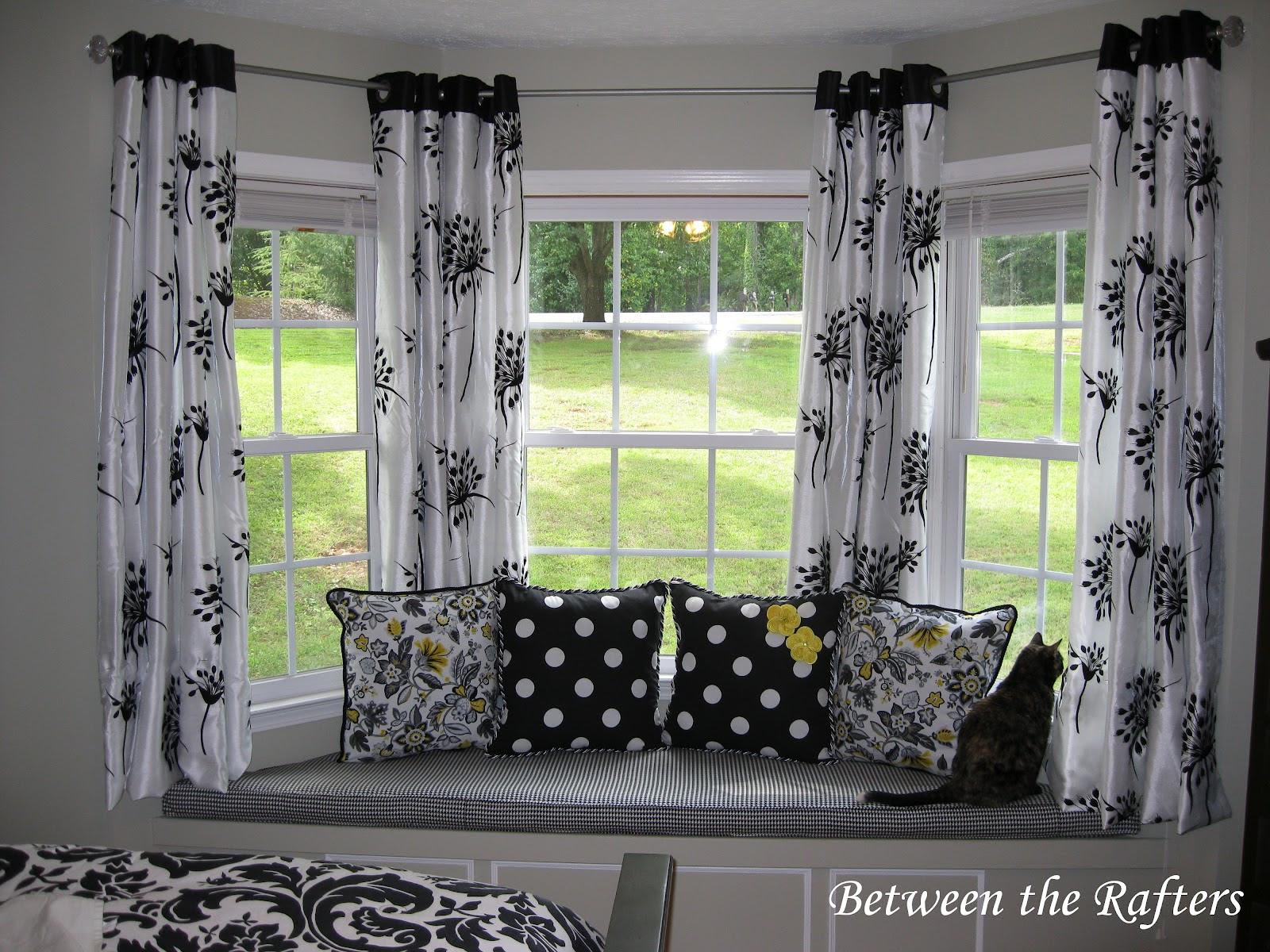 Smart Idea Bay Window Treatment Ideas Pictures