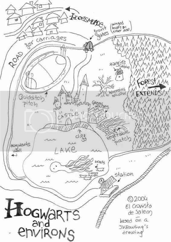 map of hogwarts grounds. map-hogwarts-fromjkr-ecjpg.jpg Hogwarts Grounds
