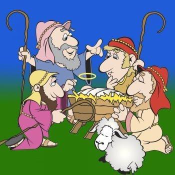 Cantando van los pastores