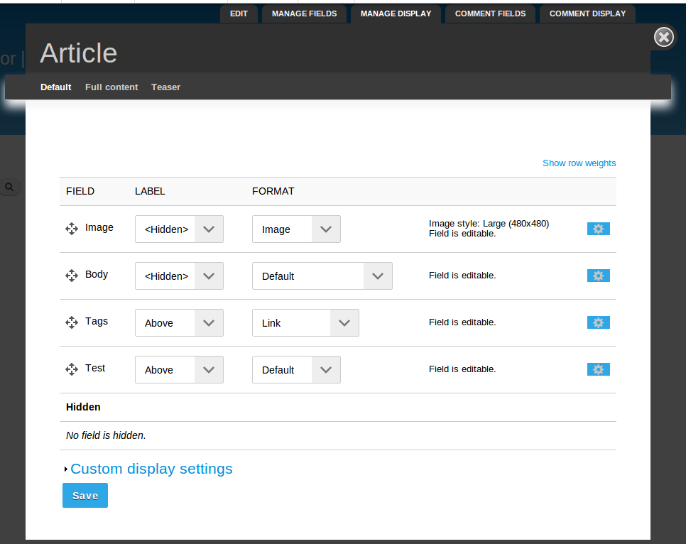 Field Formatter Editable | Drupal.org