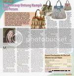 Art Ria Crafts di Tabloid Info Kecantikan