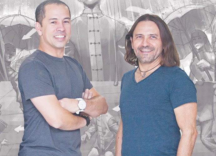 Halder Gomes e Edmilson Filho começaram amizade como professor e aluno de taekwondo