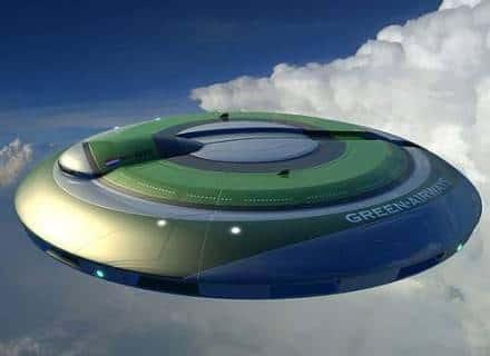 Img - Primeiro disco voador construído na Terra
