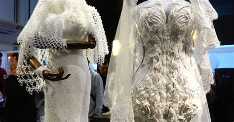 Are these stunning 3D printed wedding dresses the future