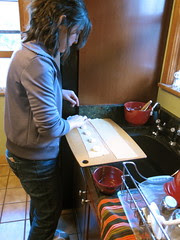 Making ravioli
