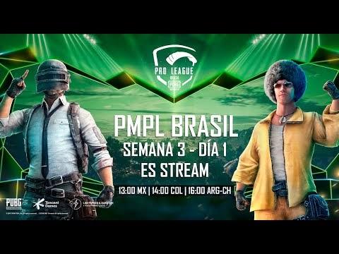 [ES] PMPL Brasil - Semana 3 Dia 1