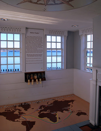The interior of the Kids' Cove at the Gables in the 1830 Counting House