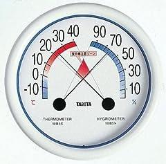 タニタ食中毒注意ゾーン付温湿度計 5488/引越し/新生活/プレゼント/ギフト