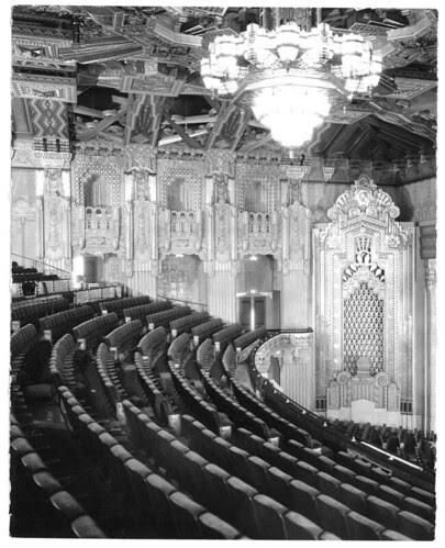 Pantages Auditorium Balcony