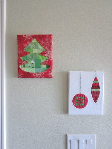 Tree and Ornament Wall Art