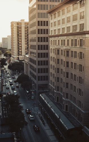Sundown on Houston St. by Jesse Acosta