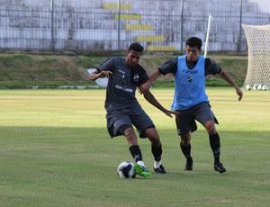 ABC - Gabriel, zagueiro - Echeverria, meia (Foto: Assessoria de Comunicação/ABC FC)