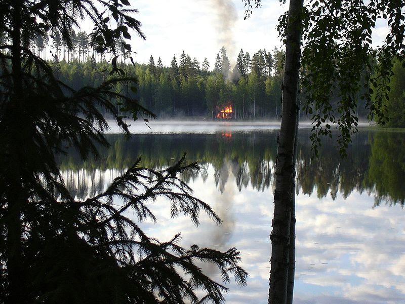 File:Burning sauna.jpg