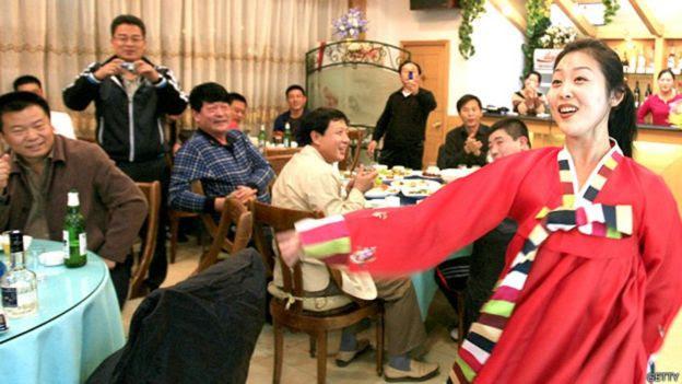 Restaurante norte-coreano