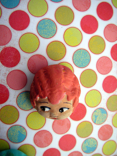 Carnival Doll Head: Lulu Candy Apple!