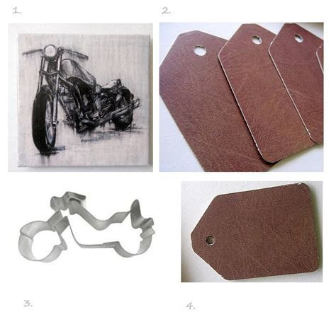 Motorcycle Wedding Favors and Reception Ideas