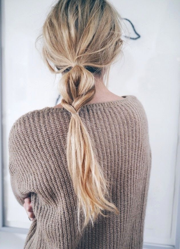 Le Fashion Blog Hair Inspiration Half And Half Wavy Braided Ponytail Brown Textured Knit Via Camilla Pihl photo Le-Fashion-Blog-Hair-Inspiration-Half-And-Half-Textured-Braided-Ponytail-Tan-Ribbed-Sweater-Via-Camilla-Pihl.jpg