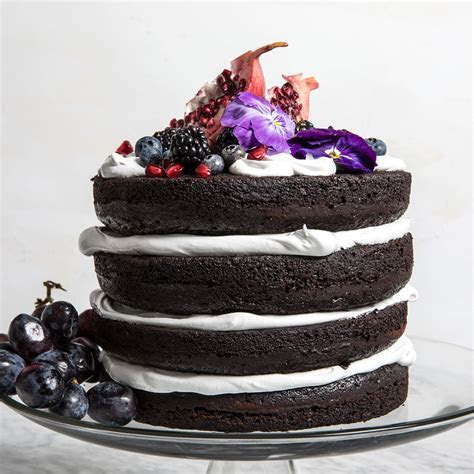 Naked Wedding Cake Recipe   Paige McCurdy Flynn   Food & Wine