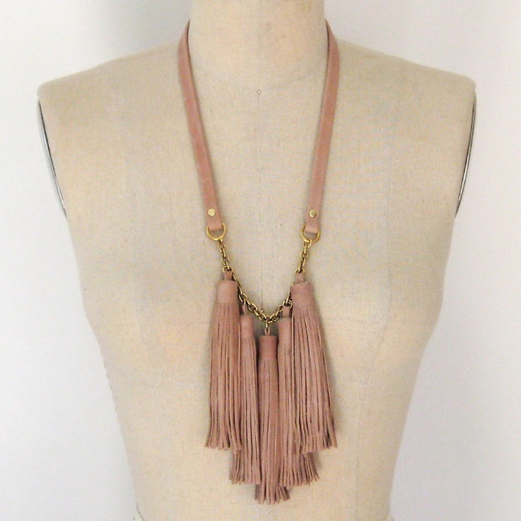 Tassel Necklace Buff