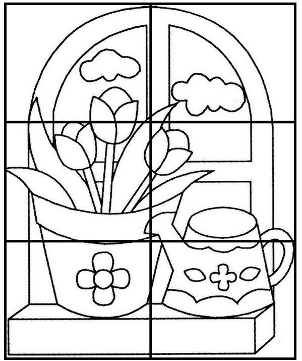 Disegno Da Colorare Schede Didattiche Primavera 1