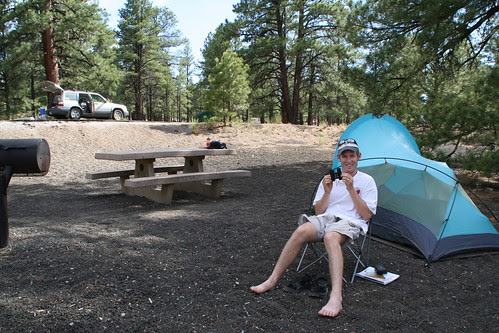 Sunset Crater camping