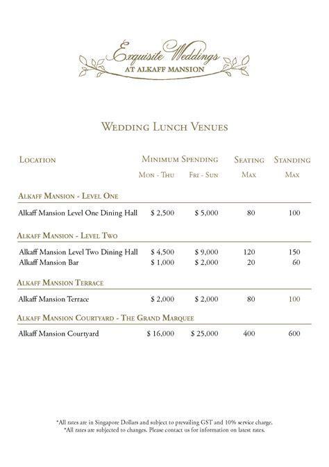 Alkaff Mansion Ristorante Wedding Venue   Dream Wedding
