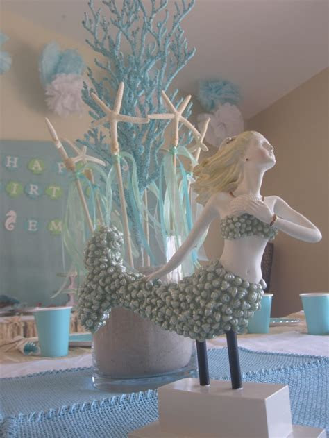 Starfish and Mermaid Centerpiece   Under the Sea
