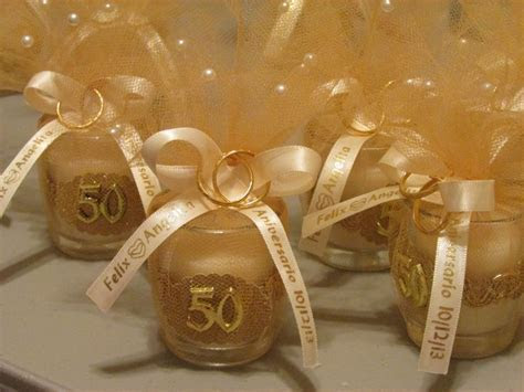 50th anniversary party favors DIY   my parents 50th